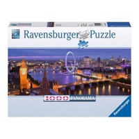 Ravensburger puslespil London at night Panorama puslespil, 1000pcs.