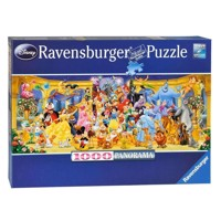Ravensburger puslespil Disney family photo, 1000pcs.