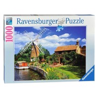 Ravensburger puslespil Picturesque mill, 1000pcs.