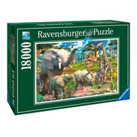 Ravensburger At the watering hole, 18,000th.
