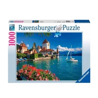Ravensburger puslespil On the Lake of Thun-Bern, 1000pcs.