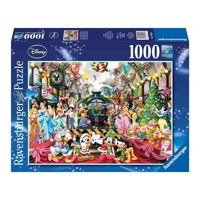 Ravensburger puslespil Disney Christmas on the Station, 1000pcs.