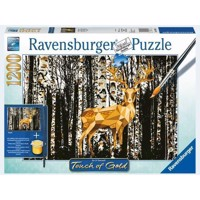 Ravensburger puslespil 1000T Hitsch in the Birkenwald