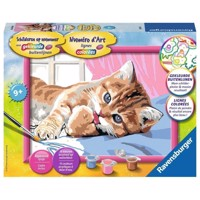 Ravensburger Painting by numbers-kitten