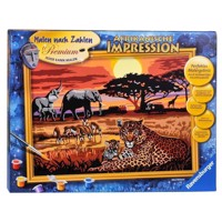 Ravensburger Painting By Numbers African Impression