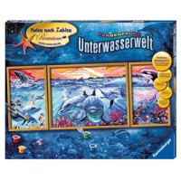 Ravensburger Painting by numbers-underwater world