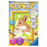 Ravensburger Painting by numbers-rabbit Felicity