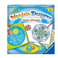 Ravensburger Mandala-Designer 2 in 1-Ocean Dreams