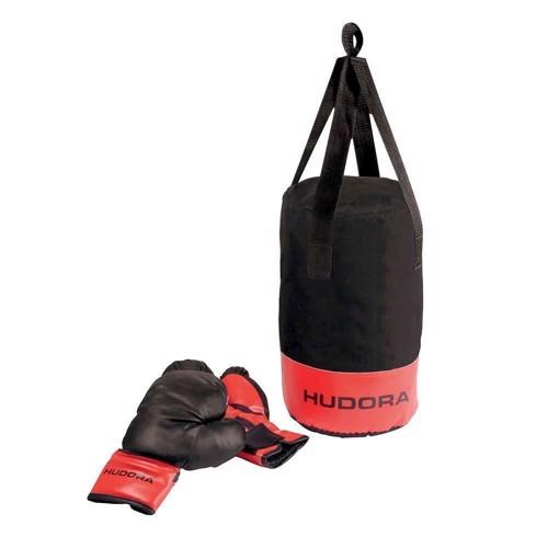 Hudora boksebold med handsker