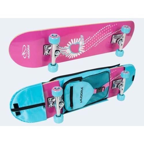 Hudora Skateboard undrar 78cm med väska ABEC3