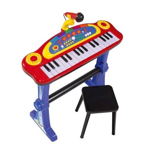 My Music World - Keyboard med stol