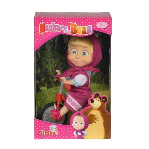 Masha and the Bear Tricycle