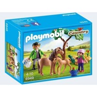 Playmobil 6949 veterinarian with ponies