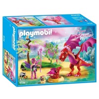 Playmobil 9134 Dragons guardian with red Dragons
