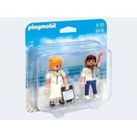 Playmobil 9216 Duopack Steward and Stewardess