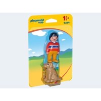 Playmobil 9256 Man with Dog
