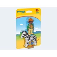 Playmobil 9257 Carer with Zebra