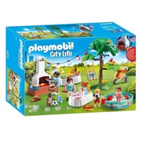 Playmobil 9272 Family Feast with Barbecue