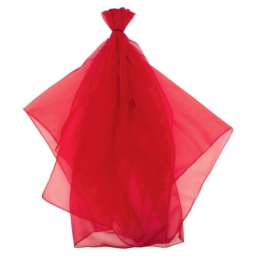 Juggling Red Cloth
