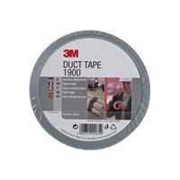 Adhesive tape 3 m 1900 Duct Tape 50mmx50m silver