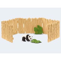 Schleich Paddock with Panda
