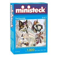 Ministeck Animal Pleasure 1800 T 4in 1