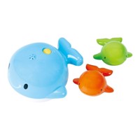 PlayGo Bathingtoys Whale, 3st.