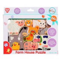 PlayGo Puzzle Farm Animals