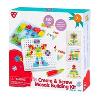 PlayGo Construction Set Mosaic, 180dlg.