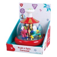 PlayGo Push &Spin Carousel
