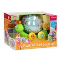 PlayGo Push &Roll Snail