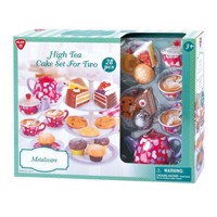PlayGo Cakeset High Tea for Two, 28dlg.
