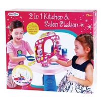 PlayGo Kitchen &Kaptafel, 2-in-1
