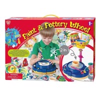 PlayGo Paint and pottery Turntable, 2-in-1