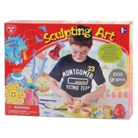 PlayGo Clay Sculpturen Set