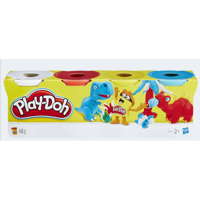 PlayDoh 4-pack kink blue yellow red white