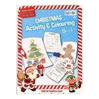Christmas Activity and Color Book
