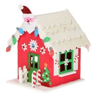 Create your own Foam Christmas house