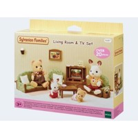Sylvanian Families, Stue med TV
