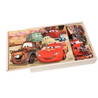 Wooden Puzzle Cars 3, 3x24st.