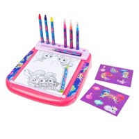 Shimmer & Shine Deluxe Roll & Go Drawing Table