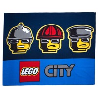 Fleece Blanket - LEGO City Heroes