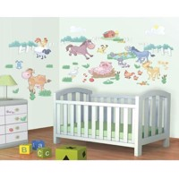 Walltastic Wall stickers Baby Farm