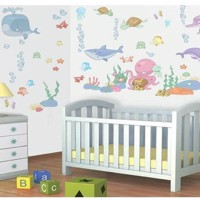 Walltastic Wall stickers Baby Underwater