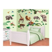 Walltastic Wall stickers Wild Animals