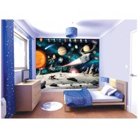 Walltastic Poster Wallpaper/wallsticker Space