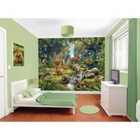 Walltastic Poster Wallpaper/wallsticker Animal Forest