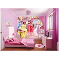 Walltastic Wallpaper Princesses Plakat