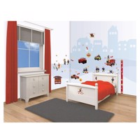 Walltastic Wall stickers Fireman Sam