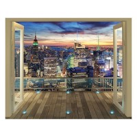 Walltastic NYC Skyline XXL, wallsticker